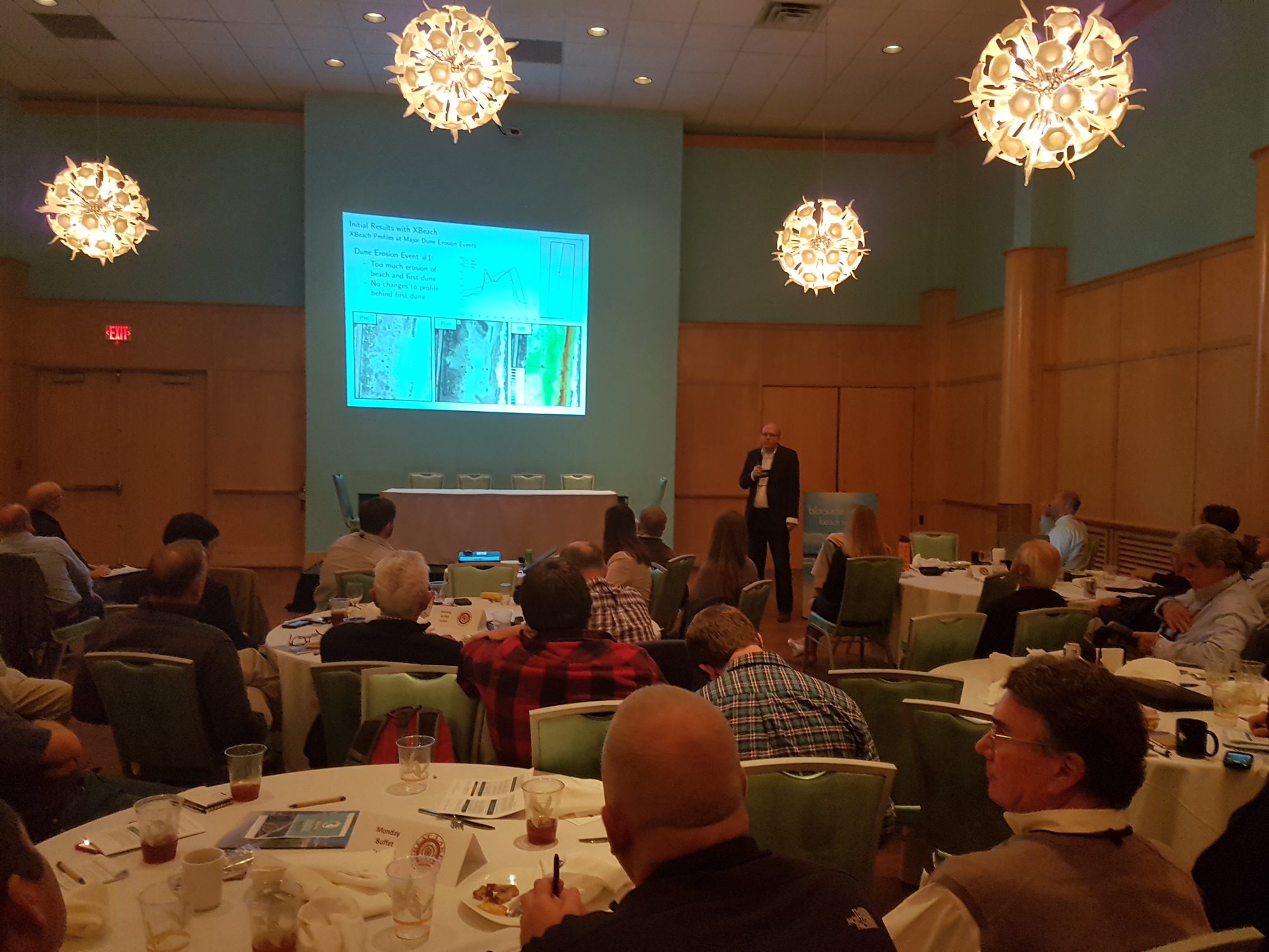 Casey Dietrich presenting at the NCBIWA Annual Conference on 14 November 2016.